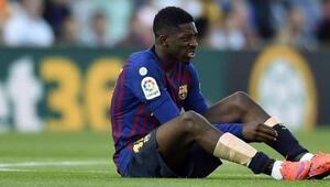 Barcelonada Ousmane Dembele sezonu kapattı