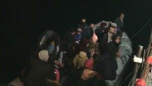 Çanakkalede kaçak göçmenler yakalandı