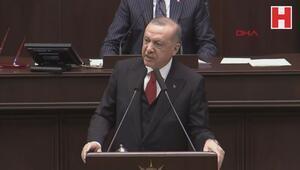 Cumhurbaşkanı Erdoğan, AK Pati grup toplantısında konuştu