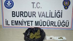 Burdurda uyuşturucuya 1 tutuklama