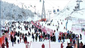 Kış turizminin gözdesi Erzurum 1 milyonluk hedefi aştı