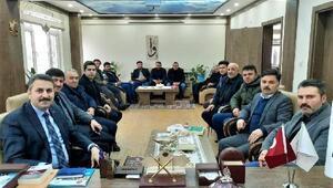 Başkan Eroğlu, Sulusarayda incelemelerde bulundu