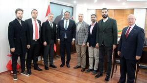 Mersin GİAD'dan Başkan Yılmaz'a ziyaret