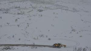 Şırnakı, Hakkari ve Siirtte bağlayan yollar kardan kapandı