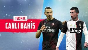 Zlatan Ibrahimovic, Cristiano Ronaldoya karşı İtalya Kupasına banko iddaa...