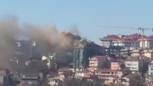Son dakika haberler: Üsküdarda korkutan yangın