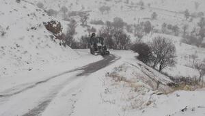 Adıyamanda 204 yerleşim biriminin yolu kardan kapalı