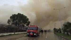 Adanada pamuk fabrikasından yeniden alevler yükseldi
