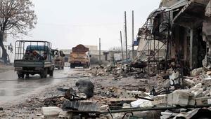 Son dakika haberleri: Bombardıman sonrası şok görüntüler Hayalet kente döndü...