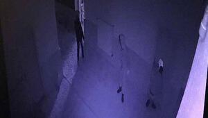 Kumbara hırsızları kamerada