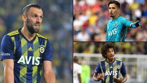 Fenerbahçede derbi öncesi sarı alarm Muriqi, Altay ve Luiz Gustavo sınırda...