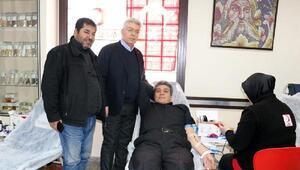NTO'da kan bağışı kampanyası ilgi gördü