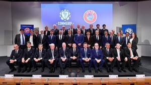 UEFA ile CONMEBOL arasında iş birliği 4 ortak komite...
