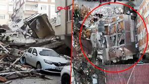Son dakika: İstanbul Bahçelievlerde bir bina çöktü