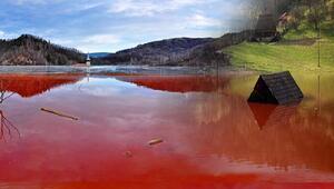 Koca kent yok olduSiyanür dolu sular vadiyi bastı...