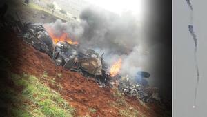 Son dakika: Esed rejim güçlerine ait bir helikopter İdlibde düşürüldü