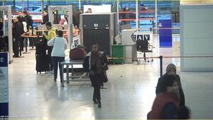 Esenboğa Havalimanı'nda akılalmaz olay Kadın kılığında yakalandı…