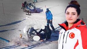 Milli kayakçı yarışma için gittiği Slovenyada kahraman oldu