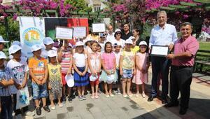 Mezitli'de okullar geri dönüşüm için yarışıyor