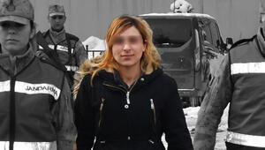 Suç makinesi kadın bakın nerede yakalandı
