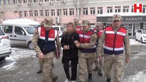Cezaevi firarisi kadın evindeki gizli bölmede yakalandı