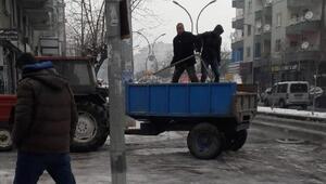Bağlar Belediyesinden buzlanmaya karşı önlem