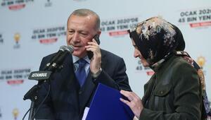 Son dakika... Cumhurbaşkanı Erdoğandan canlı yayında AK Parti üyelerine sürpriz telefon