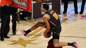 NBA All-Star smaç yarışması nefes kesti Aaron Gordon ve Derrick Jones Jr...