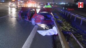 TEM Otoyolunda trafik kazası 2 ölü