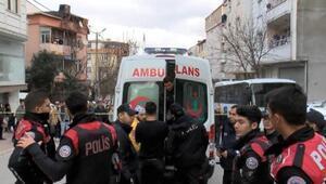 Polislere bıçakla direnen cezaevi firarisi vurularak yakalandı