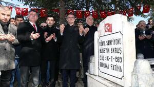 Dünya Şampiyonu Milli Güreşçi Akbaş mezarı başında anıldı
