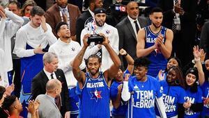 69. NBA All-Star maçını LeBronun Takımı kazandı MVP ise Kawhi Leonard oldu...