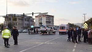 Gazipaşada kaza: 4 yaralı