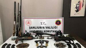 Şanlıurfada silah kaçakçılığı operasyonu: 3 gözaltı