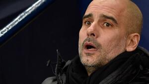 Manchester Cityde UEFA depremi devam ediyor Şeyh Mansur bin Zayed El Nahyan ve Pep Guardiola...