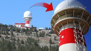 Gaziantepte kuruldu Milli Gözetim Radarı...