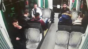 Kadir Şekerin olay öncesi tramvaydaki görüntüleri ortaya çıktı