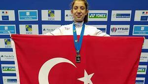 Badmintonda Ravza Bodur Avrupa ikincisi oldu