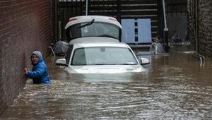 Avrupayı Dennis Fırtınası vurdu Sel uyarısı sayısı 634e ulaştı
