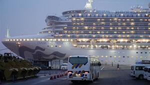 İlk kez bir Rus vatandaşında da görüldü Karantina gemisindeki turistte korona virüsü tespit edildi