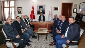 Gökdere Havzası Derneği'nden Vali Balcı'ya ziyaret