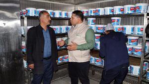 Gaziantepte süt ve süt ürünlerine yönelik denetim