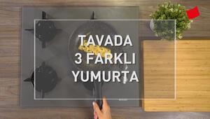 Tavada 3 Farklı Yumurta | Mucize Lezzetler
