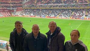 Rusya Teknik Direkörü Stanislav Çerçesov, Antalyaspor - Kasımpaşa maçını izledi