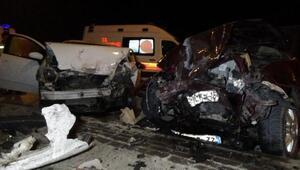 Edirnede meydana gelen kazada 4 kişi yaralandı