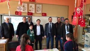 Bursaspor Kulübü Başkanı Mestan, Kestelde öğrencilerle bir araya geldi