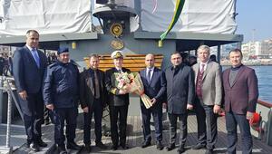 Nusret Mayın Gemisi, Karabigada ziyarete açıldı