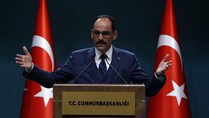 Cumhurbaşkanlığı Sözcüsü İbrahim Kalından önemli açıklamalar