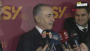 Galatasaray Başkanı Mustafa Cengiz, açıklamalarda bulundu