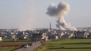 Rusyanın İdlibe saldırılarında 3 sivil öldü, 9 sivil yaralandı